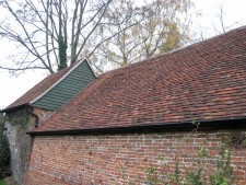 Roofing in Hampshire - Clay peg tiles